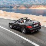 2017 Mercedes SLC43 AMG at 2016 Geneva Motor Show rear three quarter