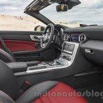 2017 Mercedes SLC43 AMG at 2016 Geneva Motor Show seats