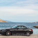 2017 Mercedes SLC43 AMG at 2016 Geneva Motor Show side