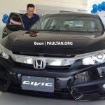 ASEAN-spec 2016 Honda Civic front-end