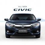 ASEAN-spec 2016 Honda Civic front