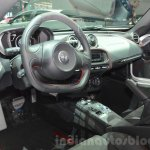 Alfa Romeo 4C Coupe interior at the 2016 Geneva Motor Show
