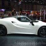 Alfa Romeo 4C Coupe side at the 2016 Geneva Motor Show