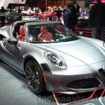 Alfa Romeo 4C Spider at the 2016 Geneva Motor Show