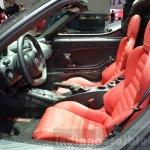 Alfa Romeo 4C Spider seats at the 2016 Geneva Motor Show