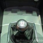 Alfa Romeo Giulia gear lever at the 2016 Geneva Motor Show Live