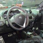 Alfa Romeo Mito interior at the 2016 Geneva Motor Show