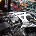 Aston Martin DB11 engine bay at the 2016 Geneva Motor Show Live