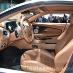 Aston Martin DB11 front cabin at the 2016 Geneva Motor Show Live