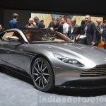 Aston Martin DB11 front three quarter at the 2016 Geneva Motor Show Live