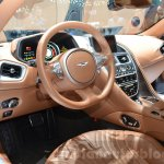 Aston Martin DB11 interior at the 2016 Geneva Motor Show Live