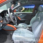 Audi Q2 front cabin at the 2016 Geneva Motor Show Live