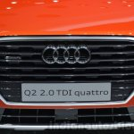 Audi Q2 grille at the 2016 Geneva Motor Show Live