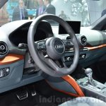 Audi Q2 interior at the 2016 Geneva Motor Show Live