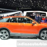 Audi Q2 side at the 2016 Geneva Motor Show Live