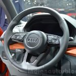 Audi Q2 steering at the 2016 Geneva Motor Show Live