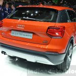 Audi Q2 taillamps at the 2016 Geneva Motor Show Live