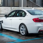 BMW 330e iPerformance rear three quarters