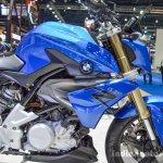 BMW G310R blue at 2016 BIMS