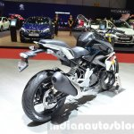 BMW G310R exhaust end at 2016 Geneva Motor Show