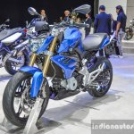 BMW G310R front quarter at 2016 BIMS