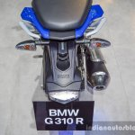 BMW G310R grab handles at 2016 BIMS