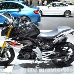 BMW G310R left side at 2016 Geneva Motor Show