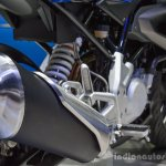 BMW G310R silencer cap at 2016 BIMS