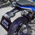 BMW G310R tail hanger at 2016 BIMS