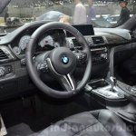 BMW M4 with Competition Package dashboard