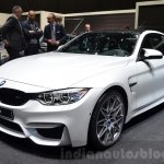 BMW M4 with Competition Package front three quarters