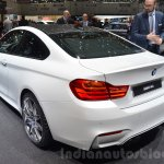 BMW M4 with Competition Package rear three quarters