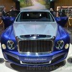 Bentley Mulsanne Grand Limousine by Mulliner front at 2016 Geneva Motor Show