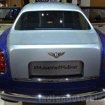 Bentley Mulsanne Grand Limousine by Mulliner rear at 2016 Geneva Motor Show