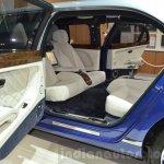 Bentley Mulsanne Grand Limousine by Mulliner rear interior at 2016 Geneva Motor Show
