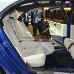Bentley Mulsanne Grand Limousine by Mulliner rear seats at 2016 Geneva Motor Show
