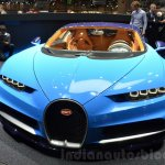 Bugatti Chiron front at the 2016 Geneva Motor Show
