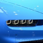 Bugatti Chiron headlight side view at the 2016 Geneva Motor Show