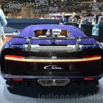 Bugatti Chiron rear at the 2016 Geneva Motor Show