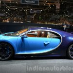 Bugatti Chiron side at the 2016 Geneva Motor Show