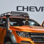 Chevrolet Colorado Xtreme headlight at 2016 BIMS