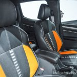 Chevrolet Colorado Xtreme seats at 2016 BIMS