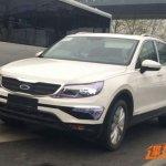 China-spec 2016 VW Tiguan front three quarters spy shot