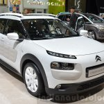 Citroen C4 Cactus W front three quarter at the 2016 Geneva Motor Show Live