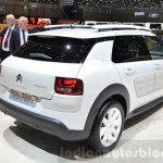 Citroen C4 Cactus W rear three quarter at the 2016 Geneva Motor Show Live