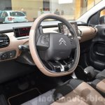 Citroen C4 Cactus W steering wheel at the 2016 Geneva Motor Show Live