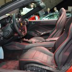 Ferrari California T with Handling Speciale package interior at 2016 Geneva Motor Show