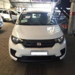 Fiat Mobi white colour spotted in Brazil