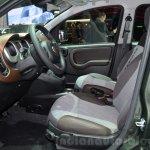 Fiat Panda 4X4 Cross front seats at the 2016 Geneva Motor Show