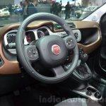 Fiat Panda 4X4 Cross steering at the 2016 Geneva Motor Show